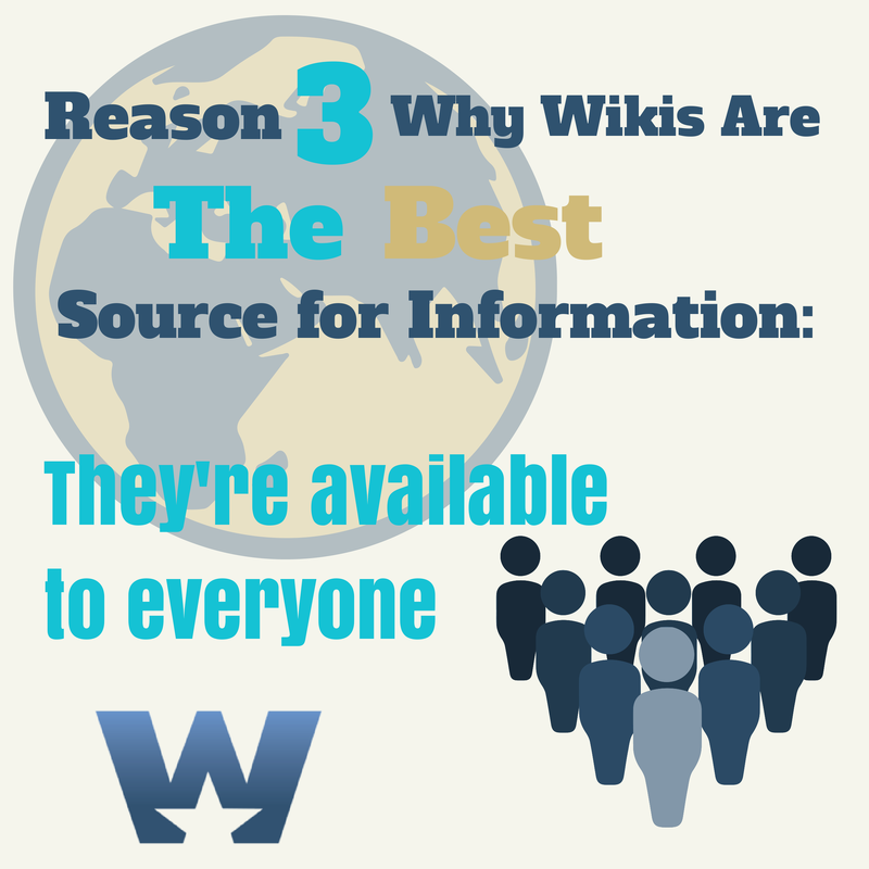 wikis are best source of information